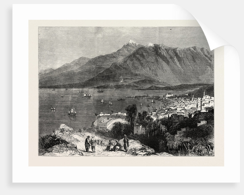 The Town of Beyrout and Mount Lebanon by Anonymous
