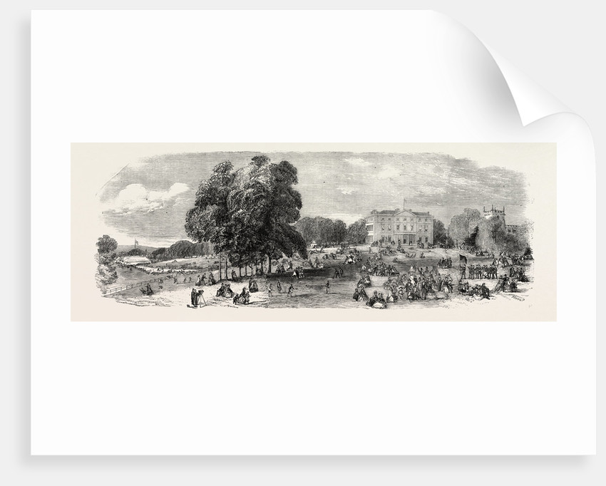 Fete at Norton Hall, the Seat of C. Cammell, Esq. by Anonymous
