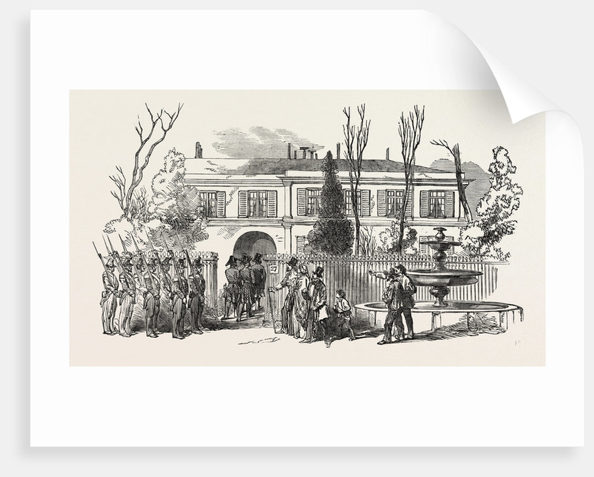 The Revolution in France: Arrest of M. Thiers, 1851 by Anonymous