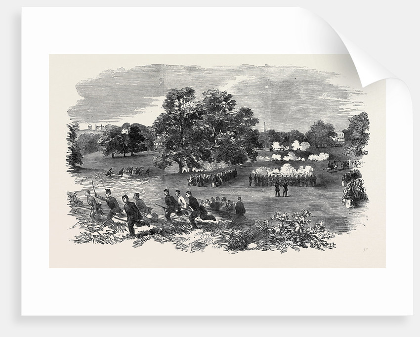 Grand Field Day of the Rifle Corps, at Torquay by Anonymous