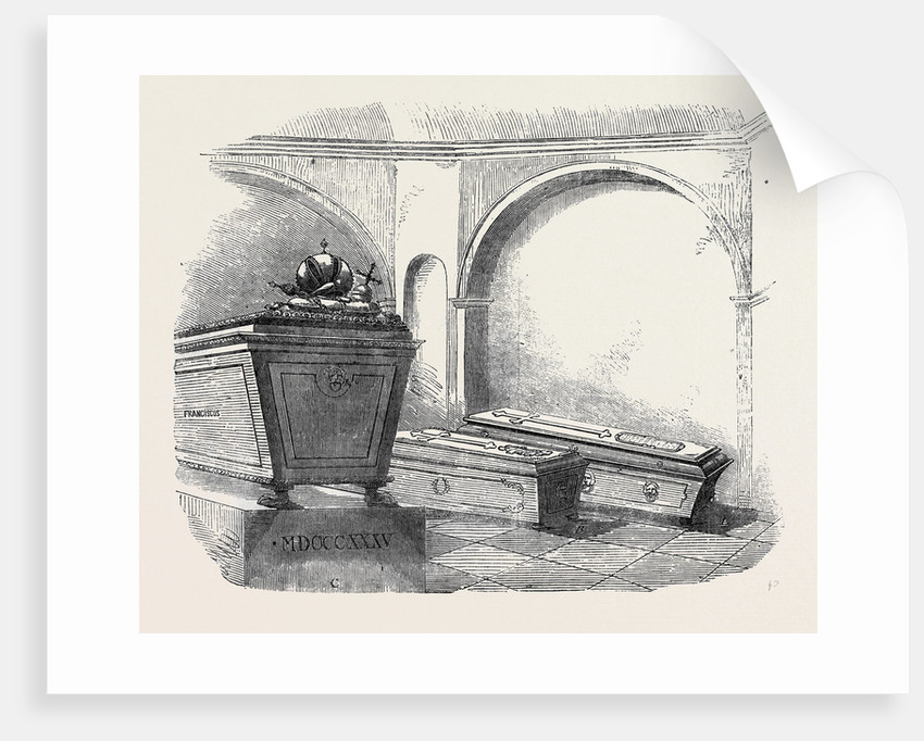 Tomb of Napoleon II., in the Imperial Vault, in the Church of the Capuchins, at Vienna by Anonymous