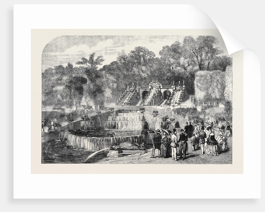 St. Cloud, the Residence of Her Majesty, the Cascade by Anonymous