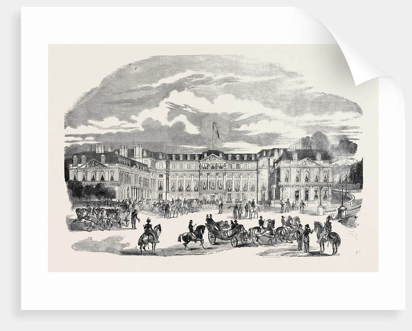 Arrival of Her Majesty at the Palace of St. Cloud by Anonymous
