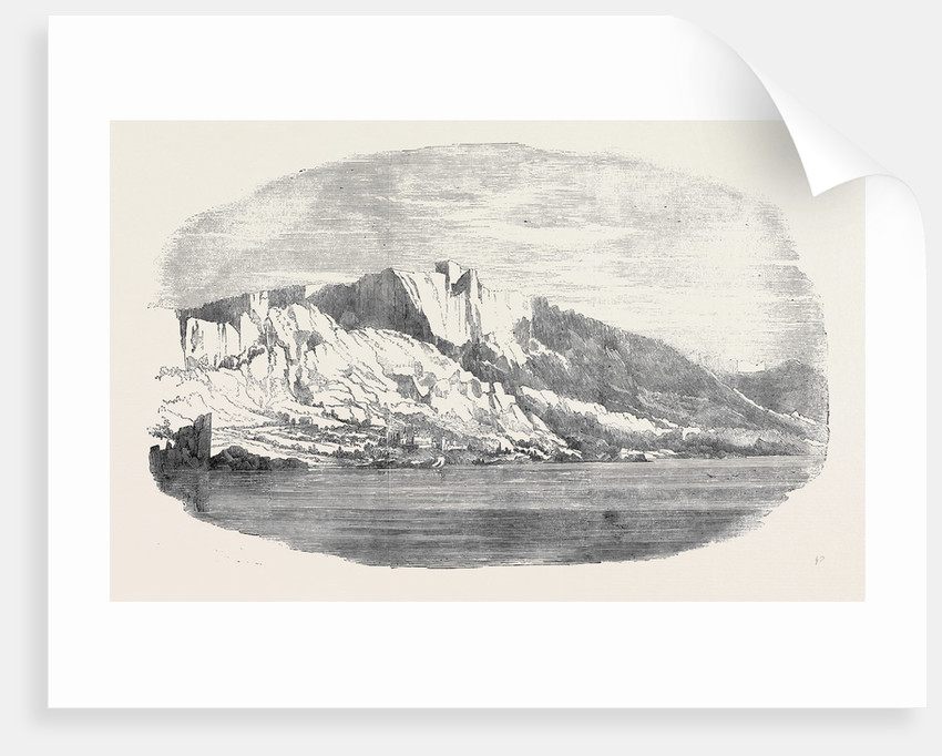 Palace of Prince Woronzow, Aloupka, on the Southern Coast of the Crimea by Anonymous