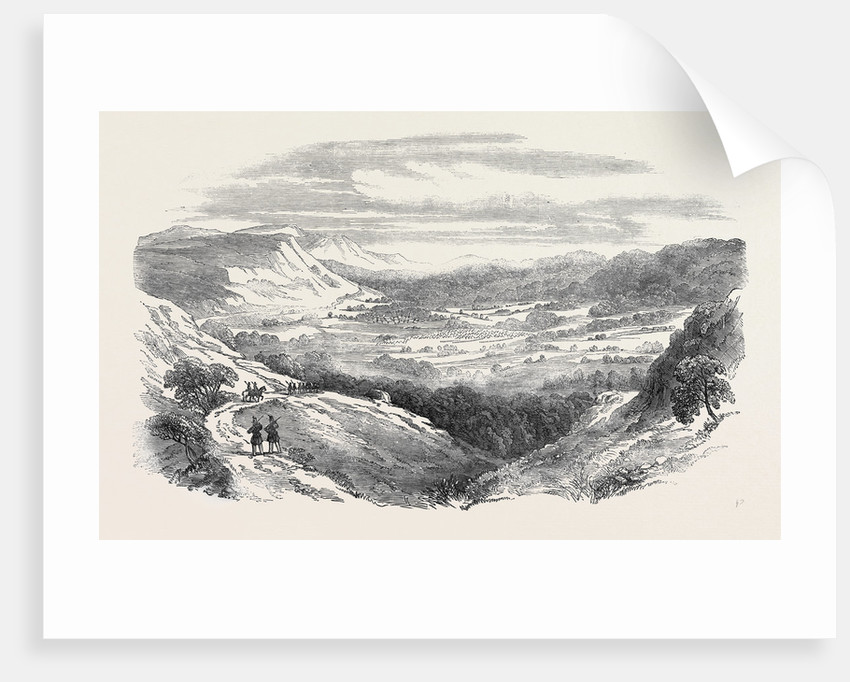 Sketches in the Crimea: The Valley of the Baidar by Anonymous