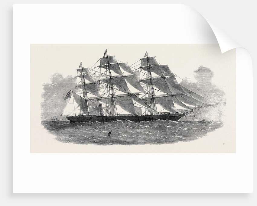 The New Screw Clipper Ship Khersonese by Anonymous