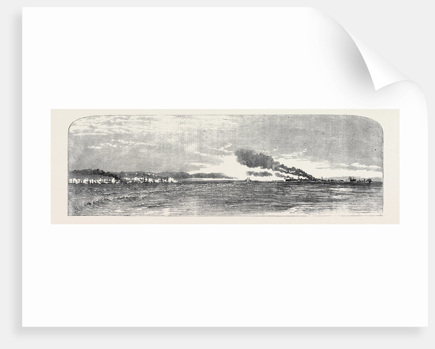 Bombardment of Kinburn, October 17, 1855 by Anonymous