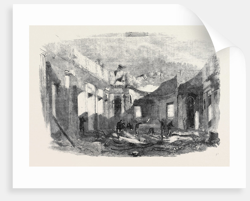 Ruins of the Church of St. Peter and St. Paul, Sebastopol by Anonymous