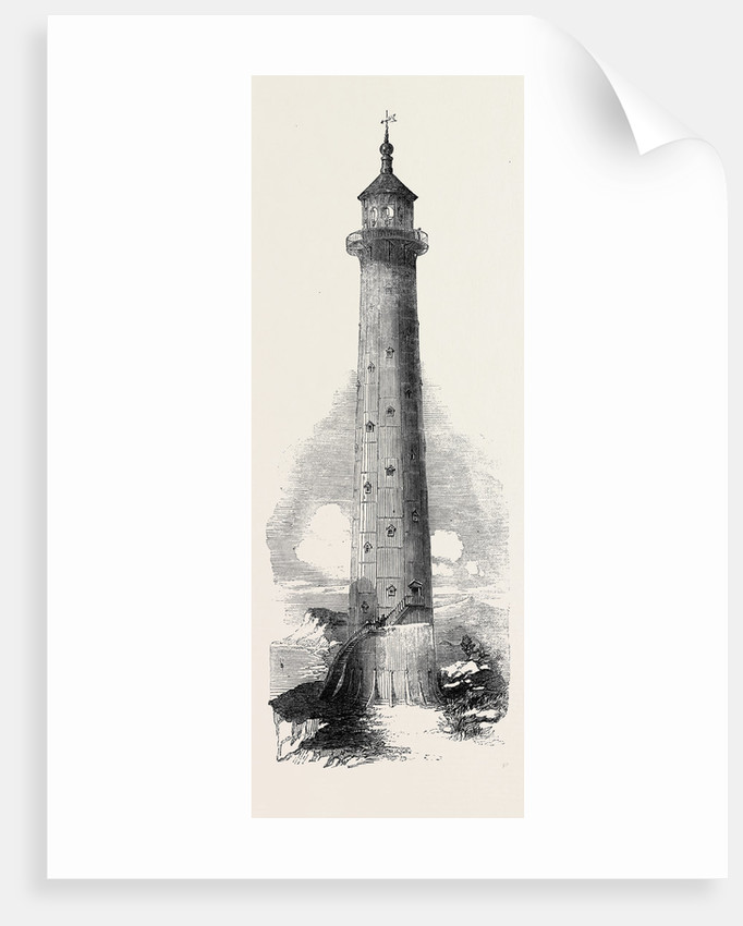 Cast-Iron Lighthouse, Constructed for the Great Isaac Rocks, Some Hundred Miles from Bermuda by Anonymous