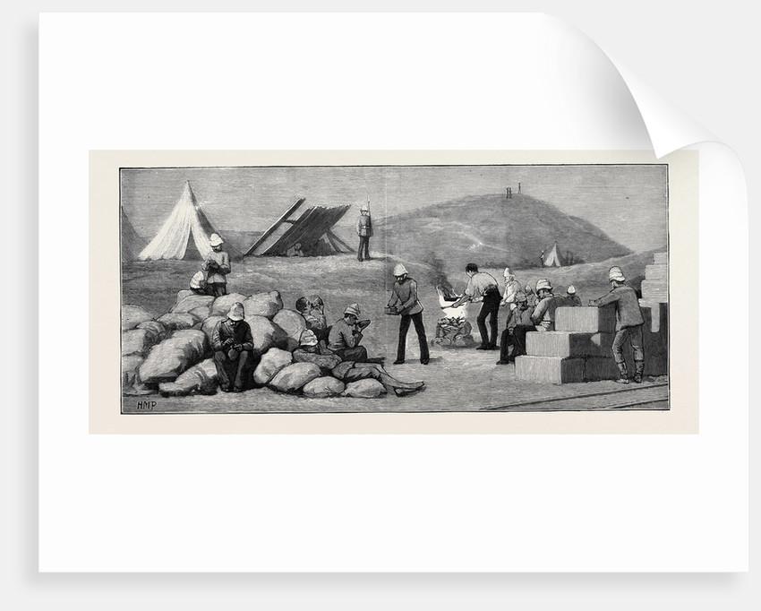 Tea in Camp at Tel-El-Mahuta, September 1, Ten P.M. by Anonymous