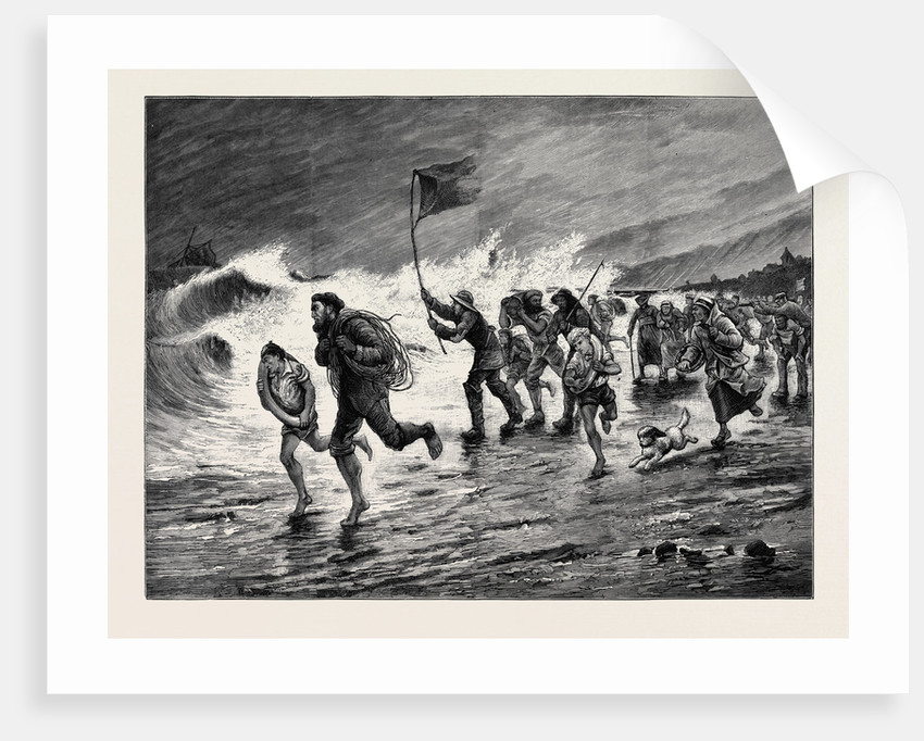 Stormy Weather: Making Signals to the Wreck by Anonymous