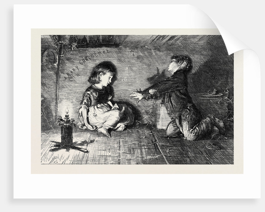 Children of the Great City from the Picture by F.W. Lawson, 1877 by Anonymous