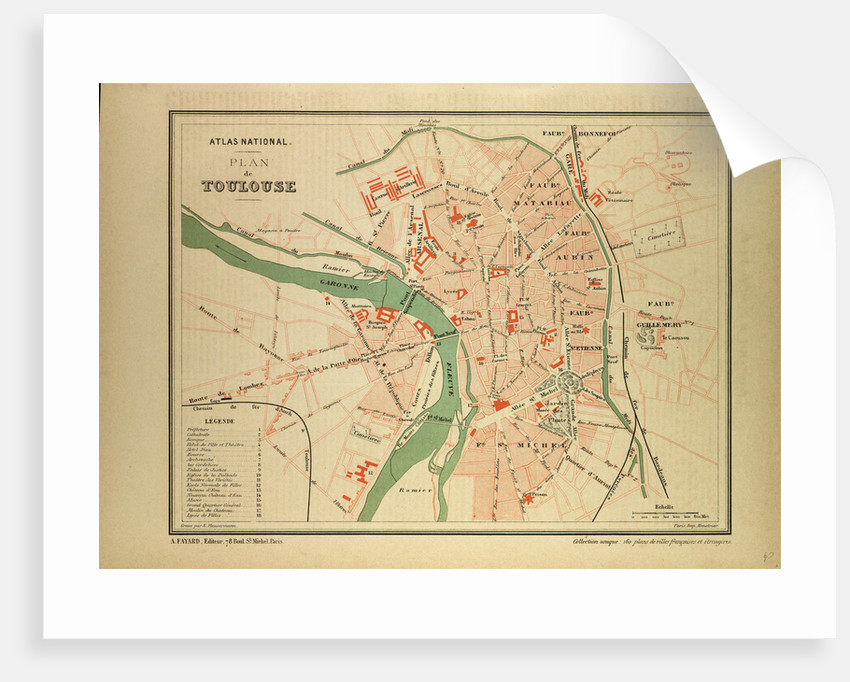 Map Of France Toulouse.Map Of Toulouse France