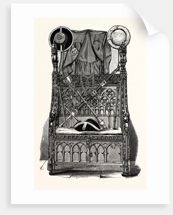Corporation Plate, Insignia, and Chair of State, Coventry by Anonymous