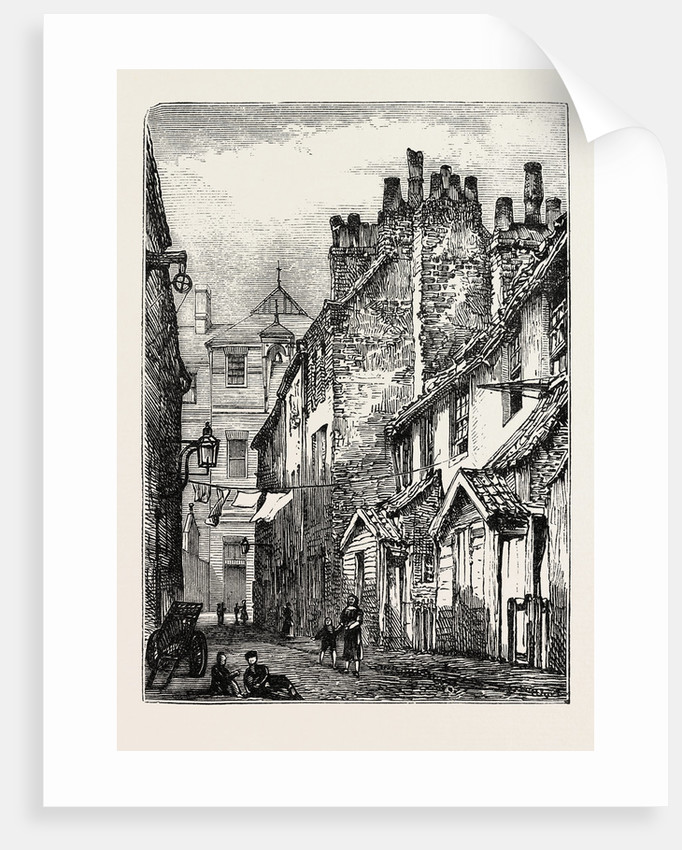 Back Street or Alley in Whitechapel, London by Anonymous