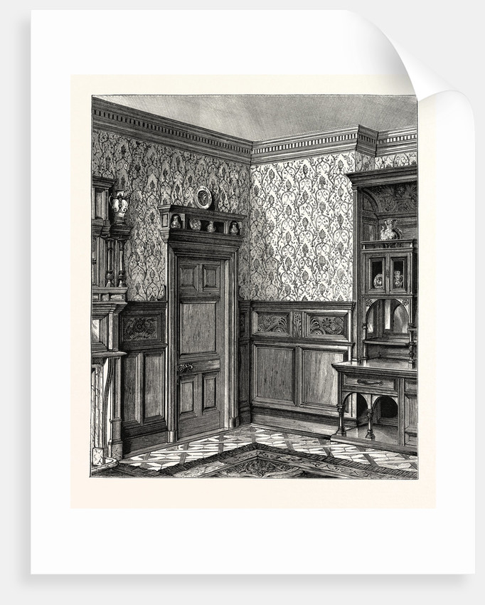 Dining Room Woodwork, Messrs. Howard And Sons by Anonymous