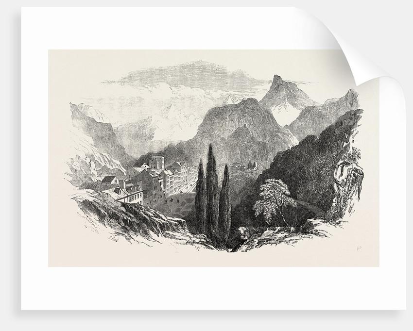Eaux Bonnes Pyrenees 1854 by Anonymous