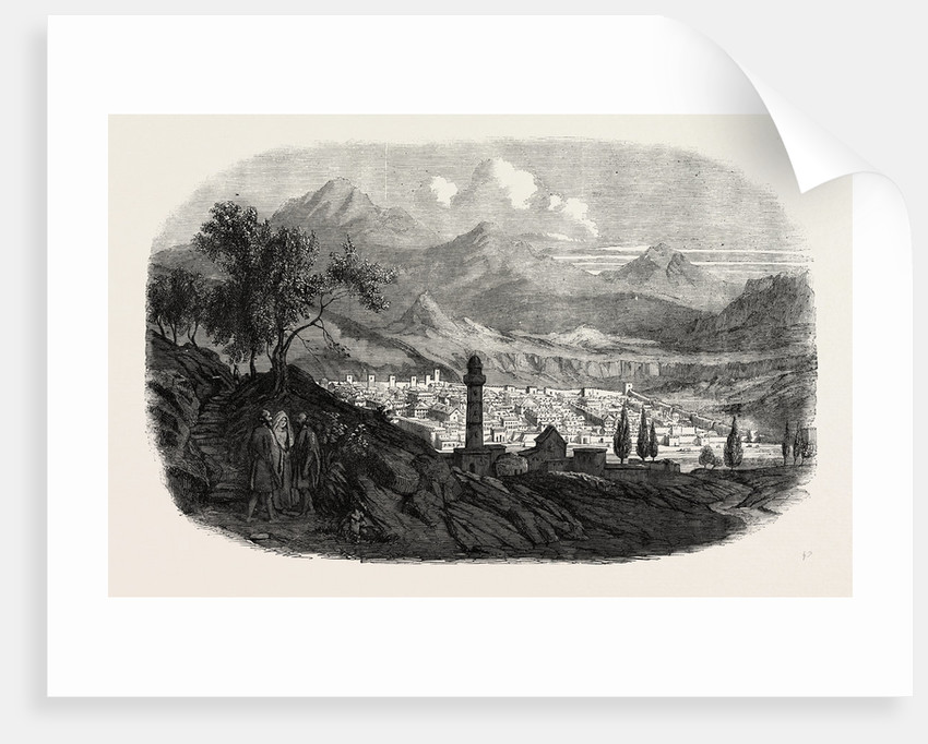 The City of Kars in Asiatic Turkey 1854