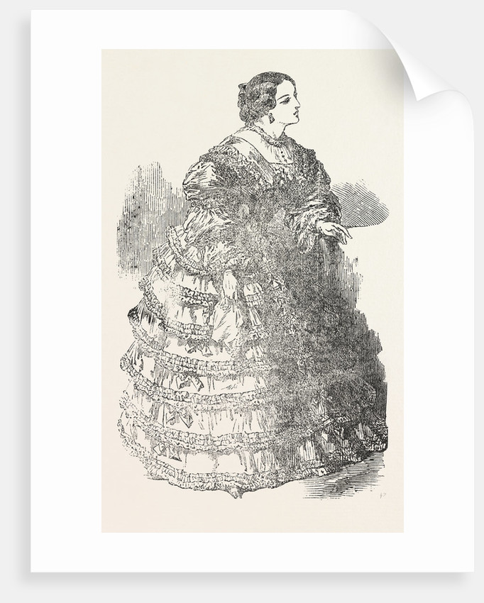 Paris Fashions for November 1854 by Anonymous