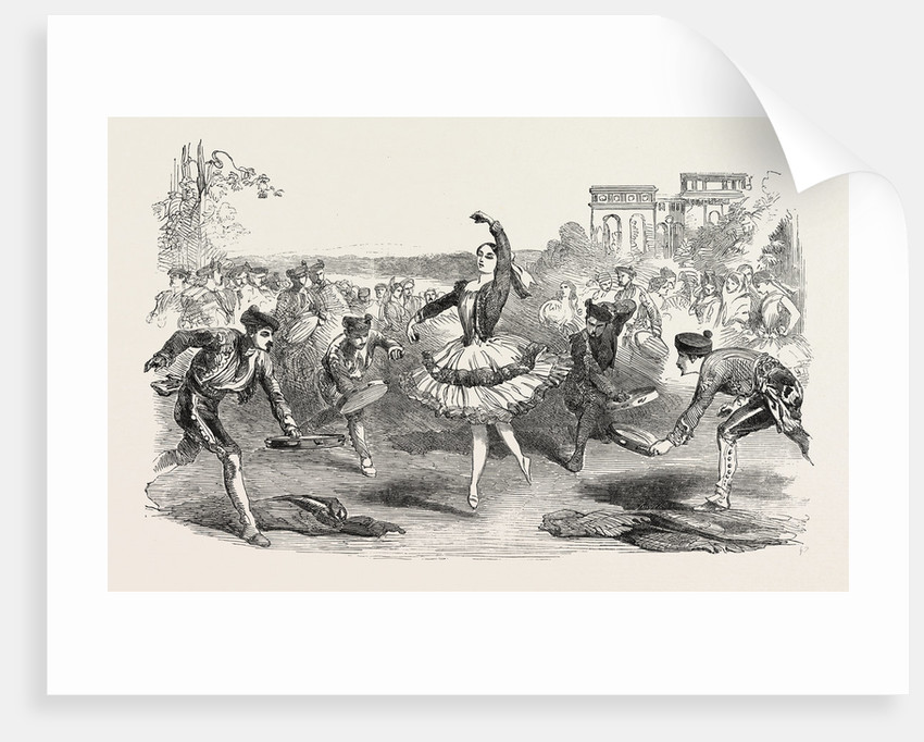The Spanish Dancers at the Haymarket Theatre London 1854 by Anonymous