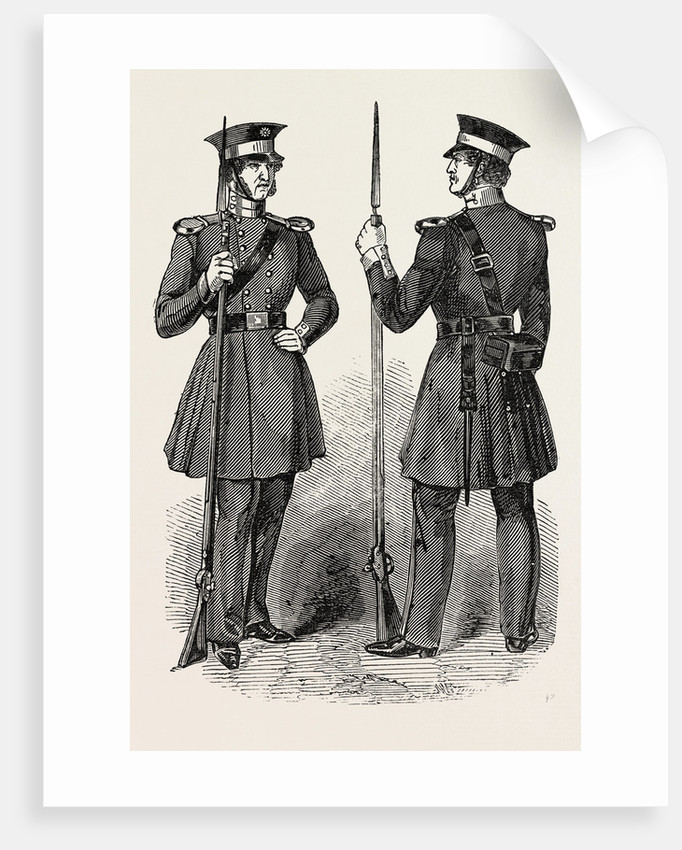 Chelsea Out-Pensioners in Their New Uniform, 1846 by Anonymous