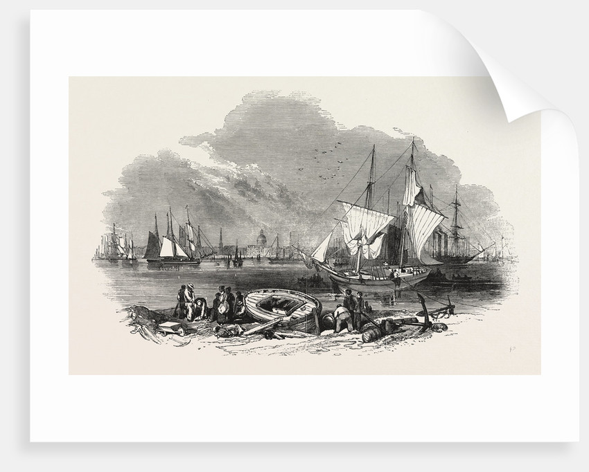 Foreign Corn Ports, New Orleans, 1847 by Anonymous