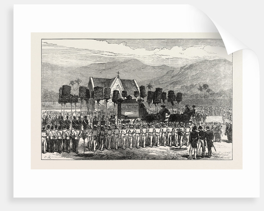 Funeral of the King of the Sandwich Islands, 1874 by Anonymous