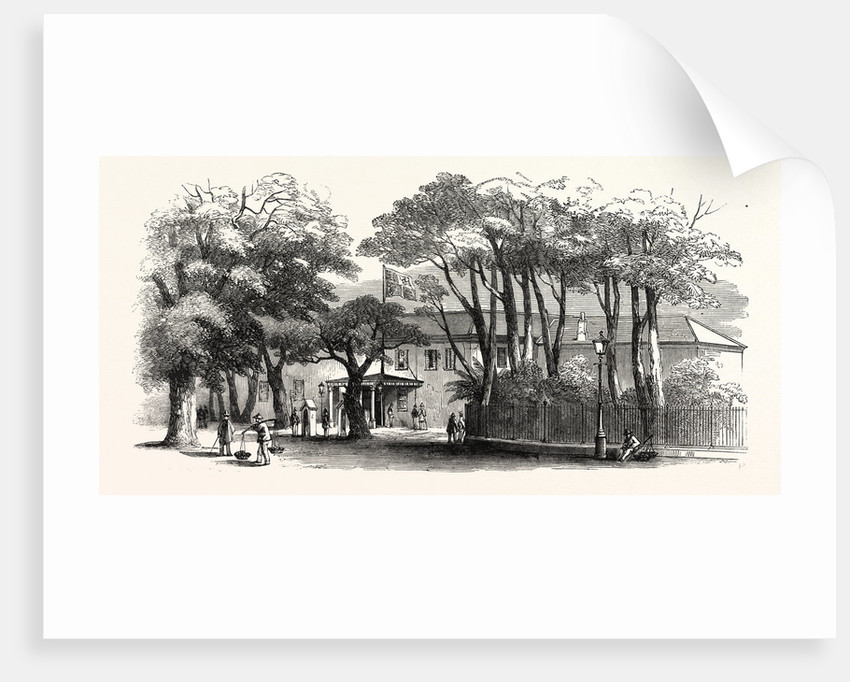 Government House, Cape Town, 1860 by Anonymous