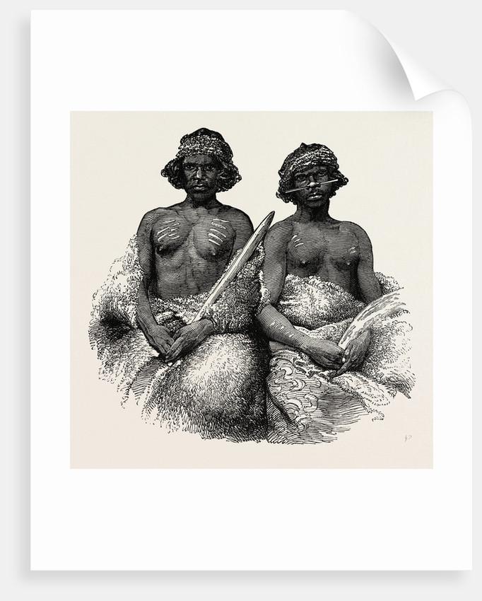 Aboriginal Australians: Young Men, 1850. Port Phillip by Anonymous