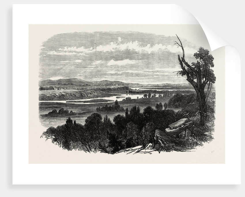 Cook's River Dam, Botany Bay, New South Wales, 1865 by Anonymous