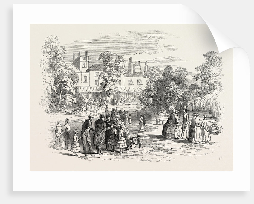 Fete at Bedford Lodge, Campden Hill, 1846 by Anonymous