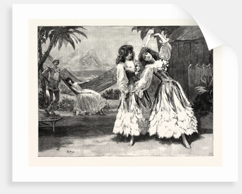 Robinson Crusoe the Guards' Burlesque at the Chelsea Barracks: The Pas De Deux in the Second Act UK by Anonymous