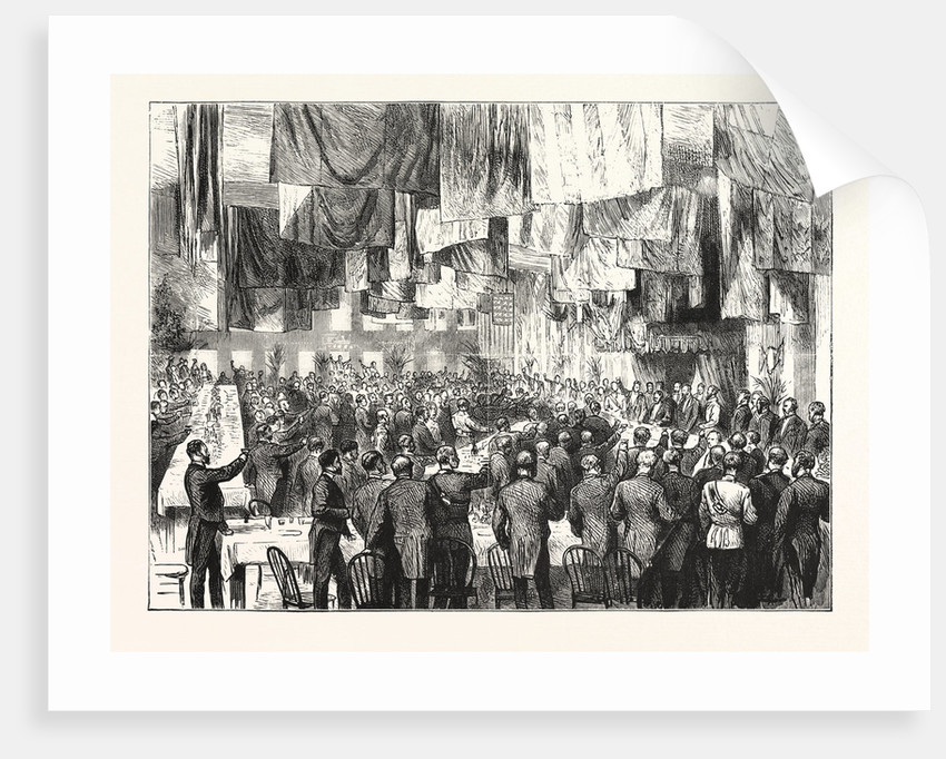 The Extension of the Natal Railway to Charlestown: The Banquet at Charlestown by Anonymous