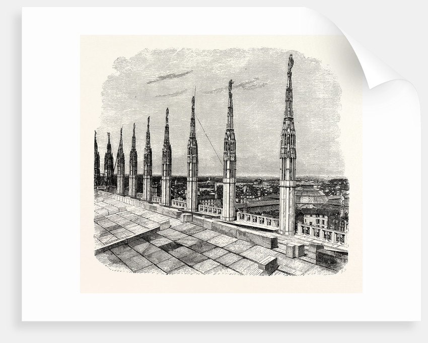 Pinnacles of Milan Cathedral by Anonymous