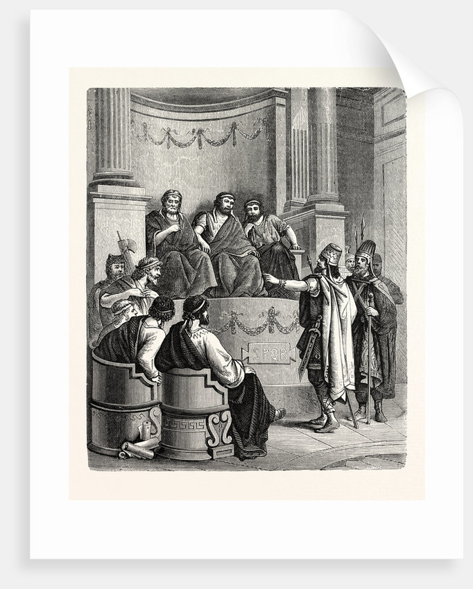 Eastern Kings Invoking the Judgment of the Roman State. by Anonymous