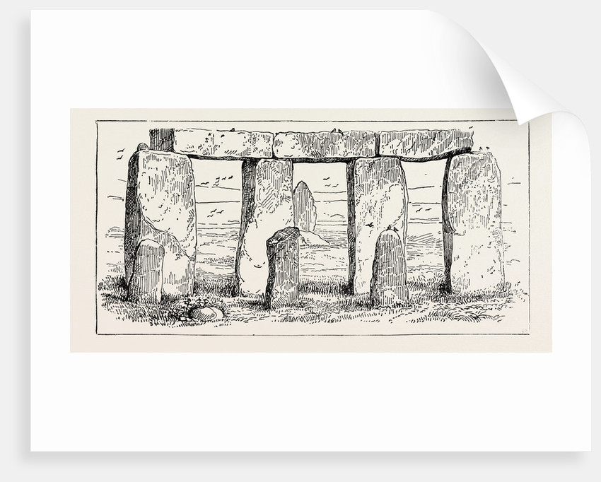 Remains of a Druidic Temple by Anonymous