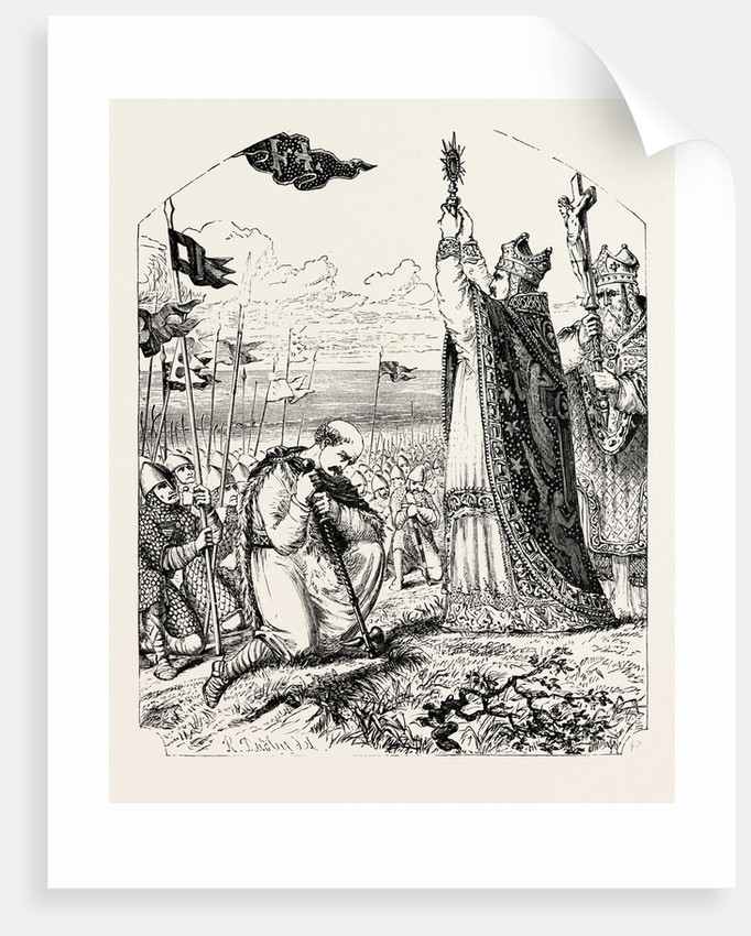Blessing the Norman Troops Before the Battle by Anonymous