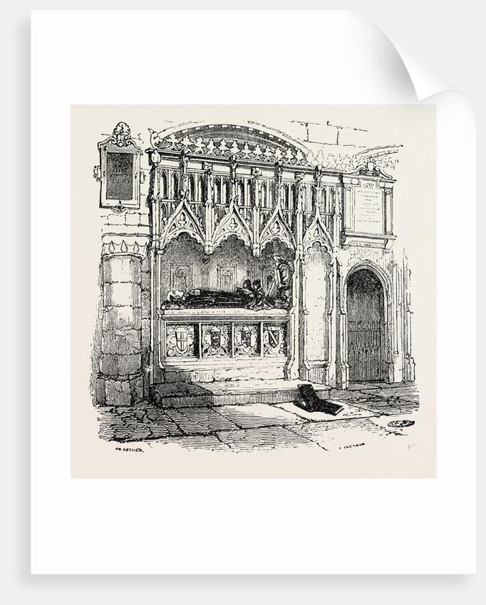 Rahere's Tomb St. Bartholomew's Smithfield by Anonymous
