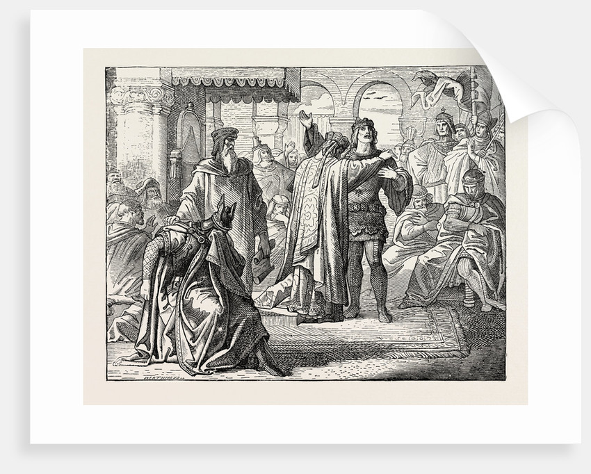 Reconciliation of Richard I. With the Emperor Henry VII by Anonymous