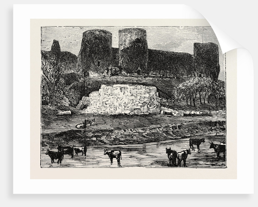 Rhuddlan Castle. by Anonymous