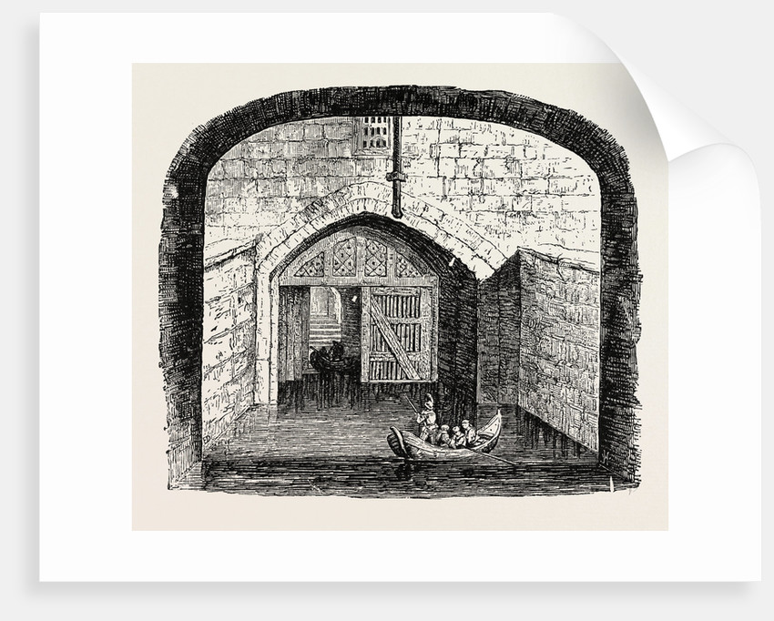 Traitor's Gate Tower of London. by Anonymous