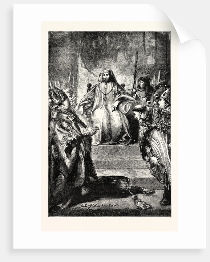 The Coronation of Henry IV. by Anonymous