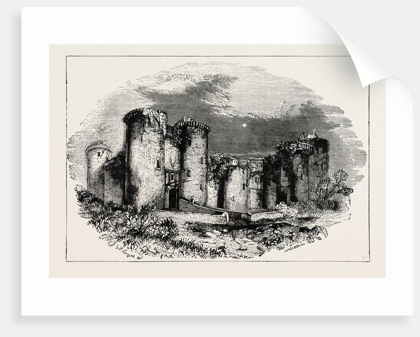 Rouen Castle. by Anonymous