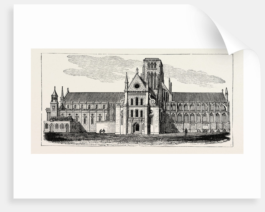 Old St. Paul's Cathedral by Anonymous