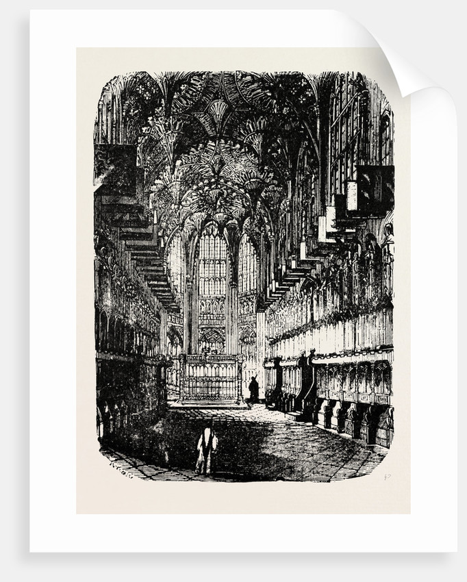 Chapel of Henry VII. In Westminster Abbey. by Anonymous