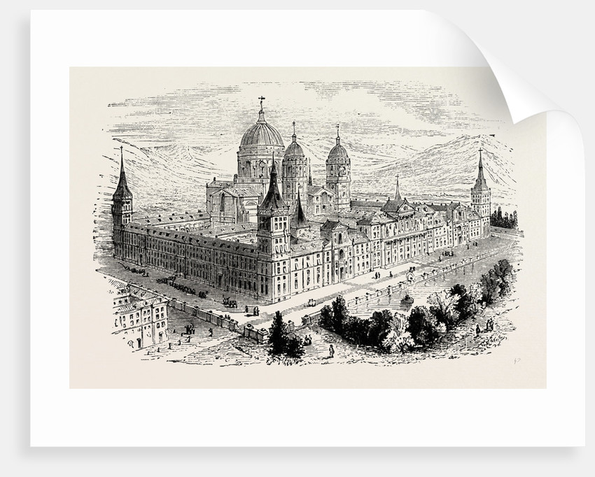 The Escurial the Palace of Philip II. by Anonymous