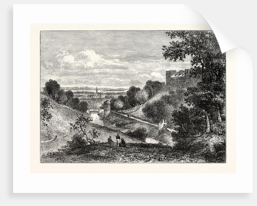 The Water of Leith 1825 by Anonymous