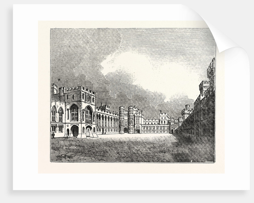 Windsor Castle Great Quadrangle by Anonymous
