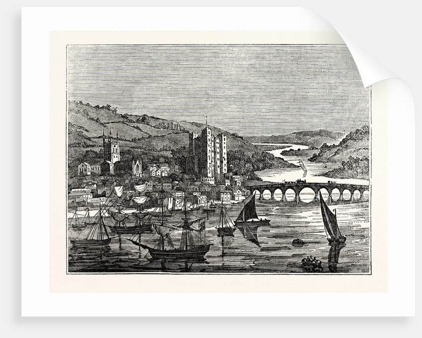 View of the City of Rochester UK by Anonymous