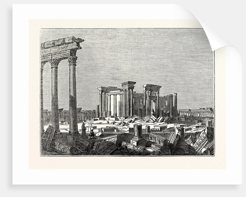 Temple of the Sun at Palmyra by Anonymous